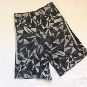 Russell Athletic Bottoms - Boys Athletic Shorts/Blue Camo/Gray & Black
